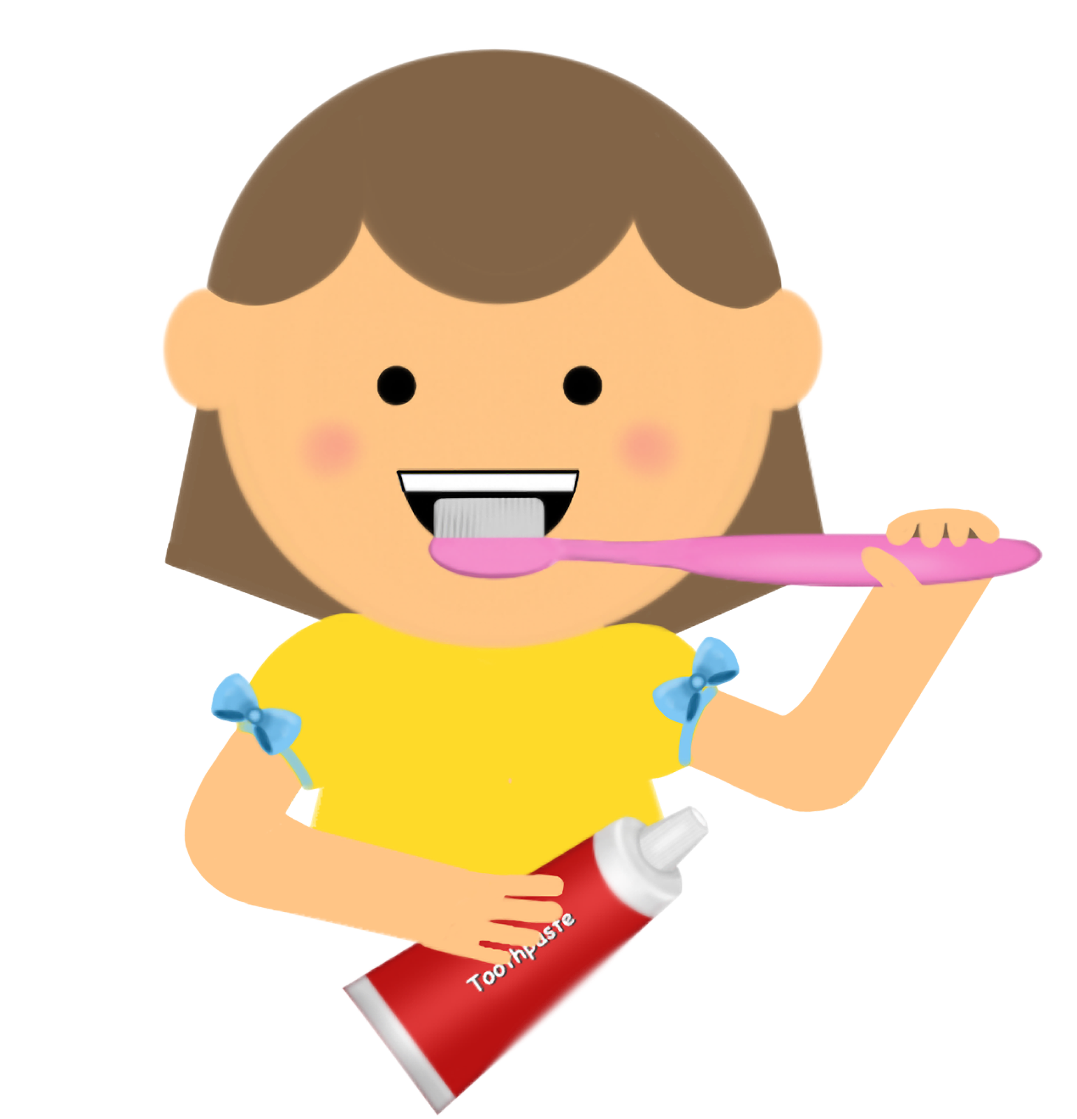 Kids brushing teeth clipart clipart images gallery for free download.