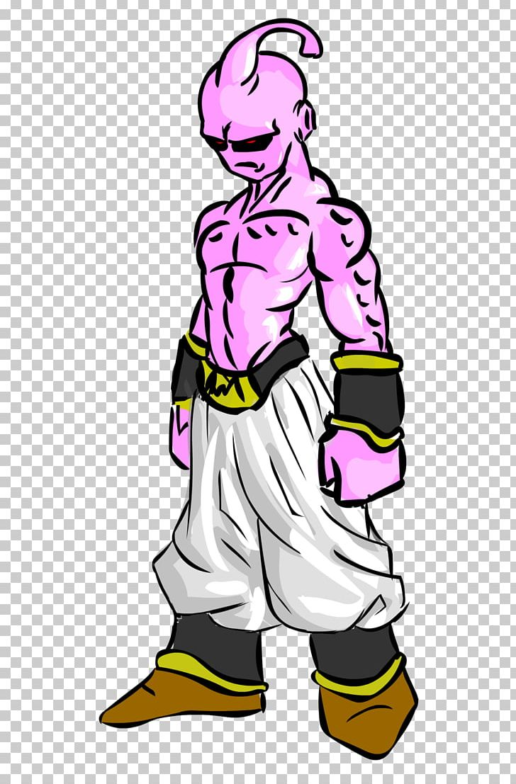 Majin Buu Evil Kid Buu! Dragoi Ilunak Fan Art PNG, Clipart.