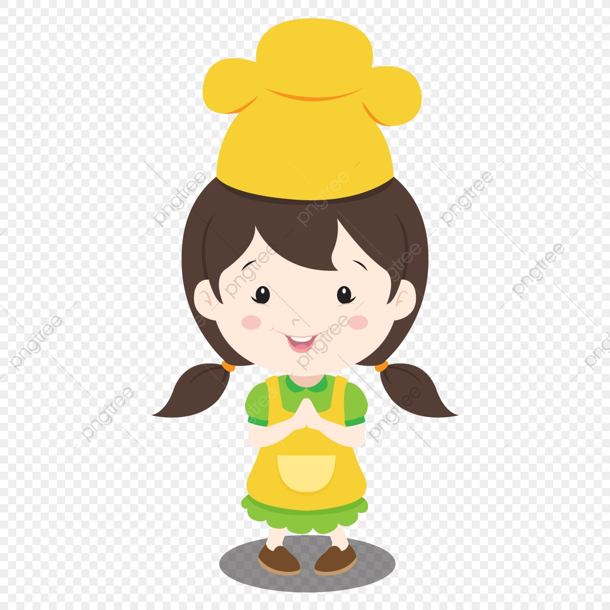 Kid Chef, Food, Kitchen, Cook PNG and Vector with Transparent.