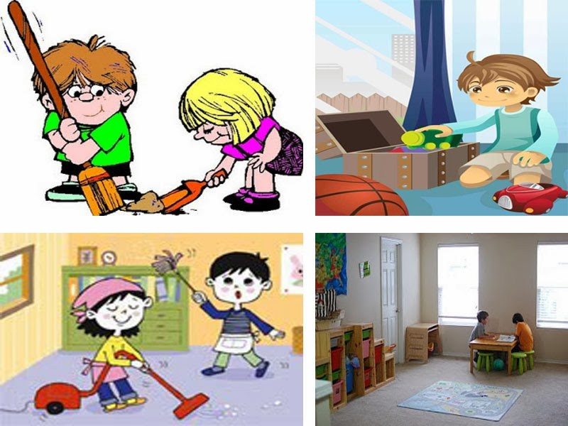 Kids cleaning room clipart 4 » Clipart Portal.