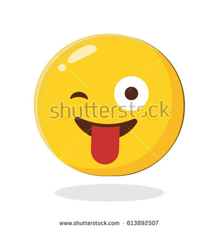 Smiley Blink Stock Images, Royalty.