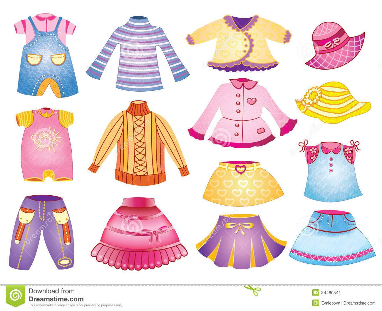 Kids clothes clipart free 6 » Clipart Portal.