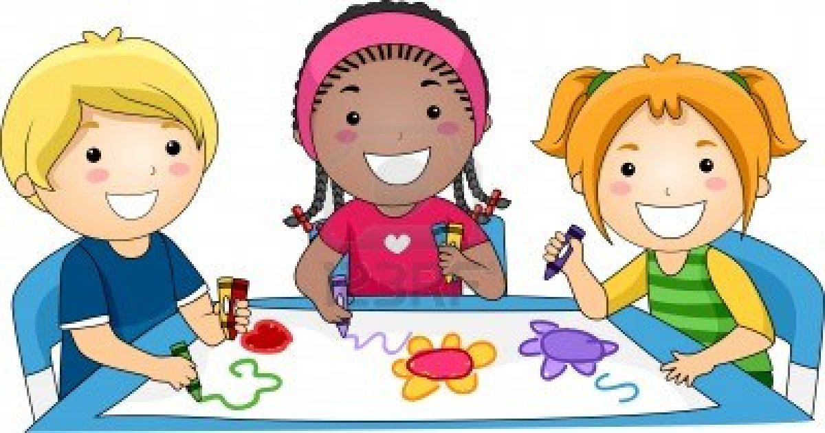 Clipart Kids Drawing.