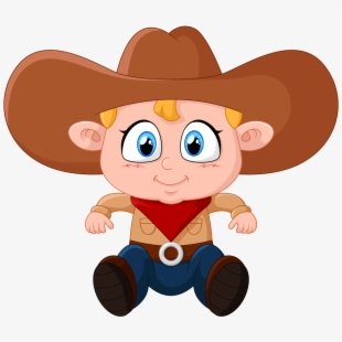 Free Kid Cowboy Clipart Cliparts, Silhouettes, Cartoons Free.