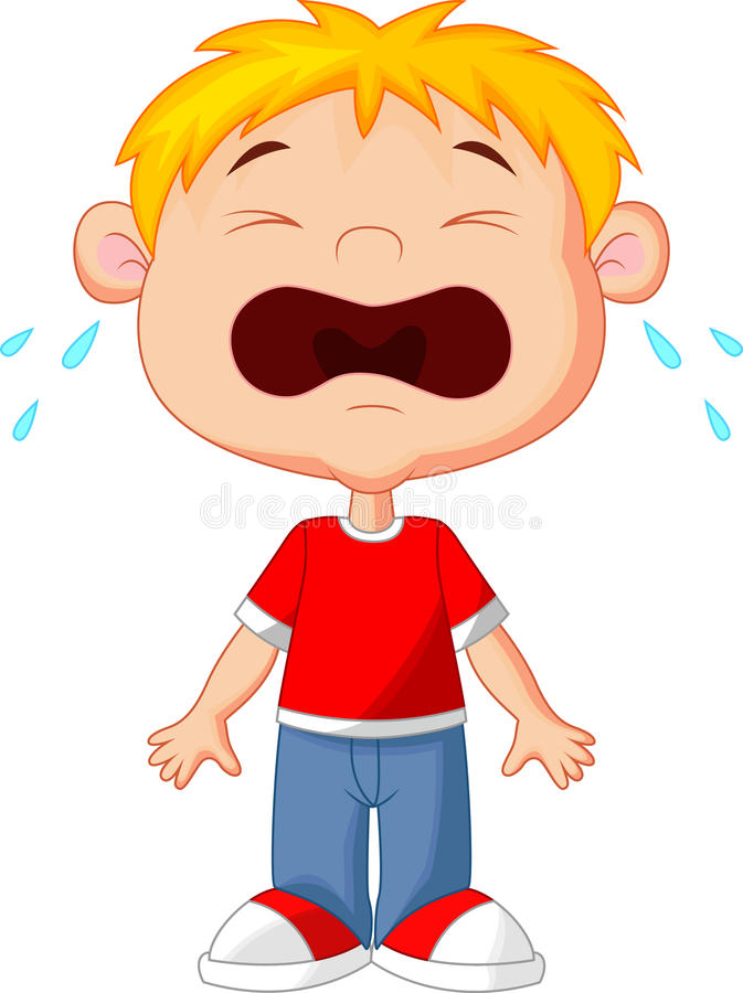 Crying kid clipart 2 » Clipart Station.