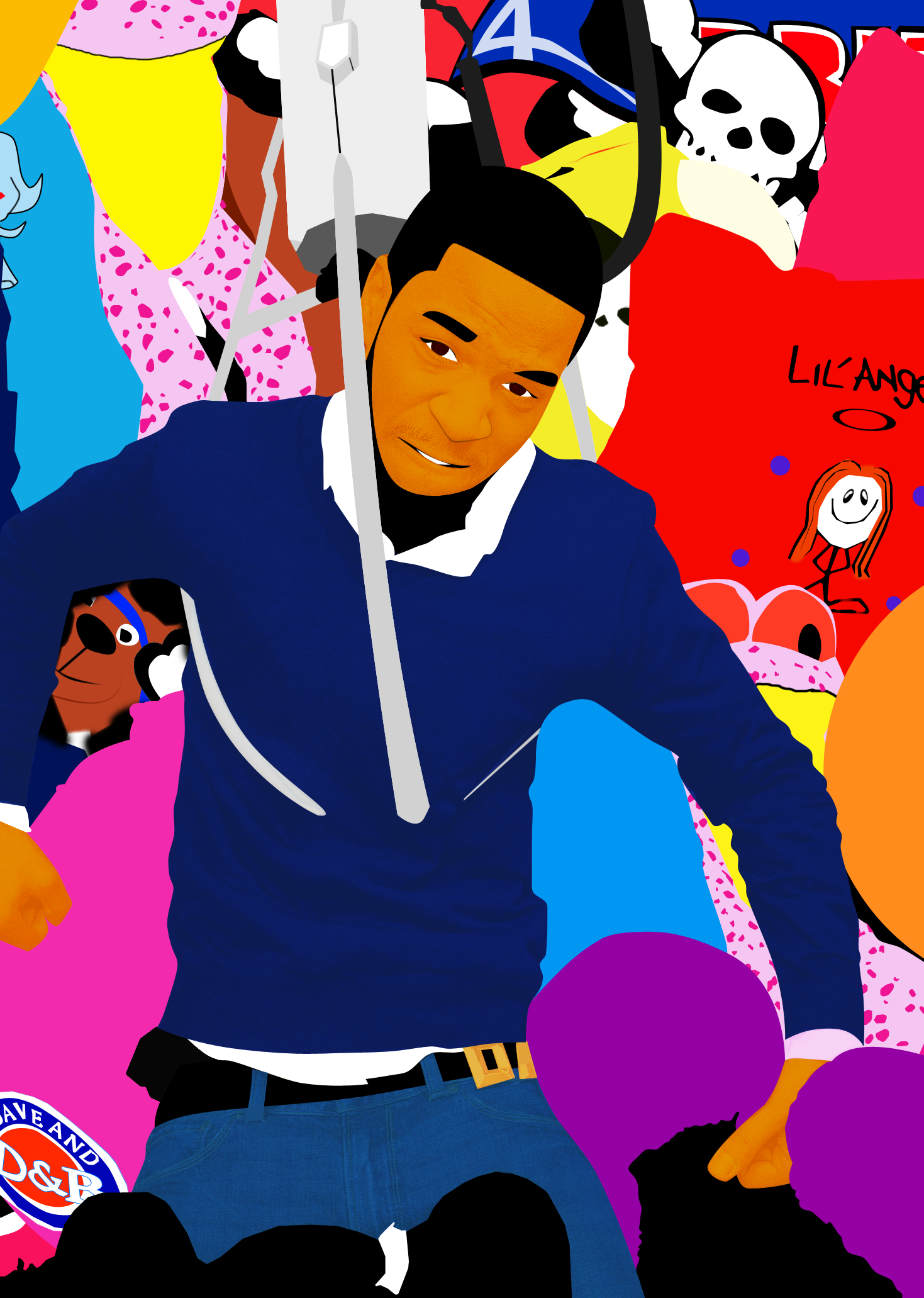 Kid Cudi Vector by BoiGenius on DeviantArt.