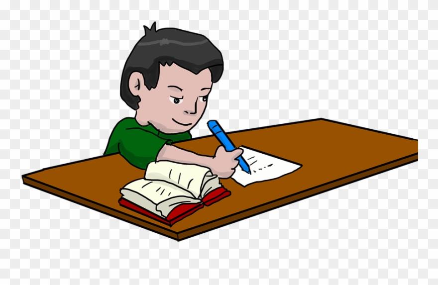 Kids Homework Clipart (#812970).