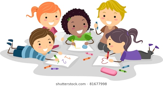 Kid drawing clipart 2 » Clipart Station.