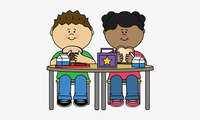 Lovely Kid Eating Breakfast Clipart School Lunch Clip.