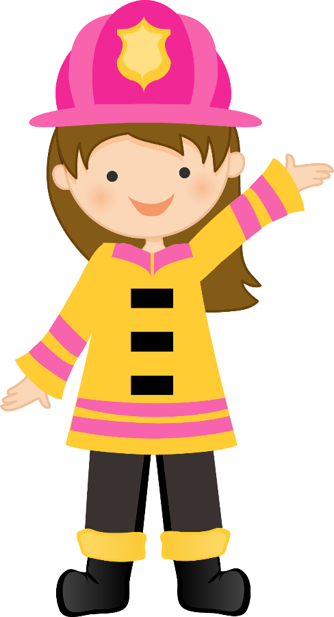 Kid Girl Fireman Png & Free Kid Girl Fireman.png Transparent Images.