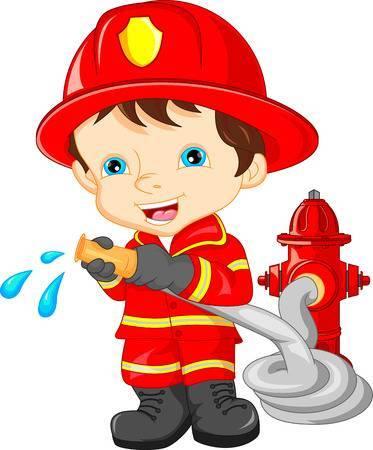 Kid firefighter clipart 1 » Clipart Portal.