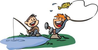 Kids Fish Clipart.