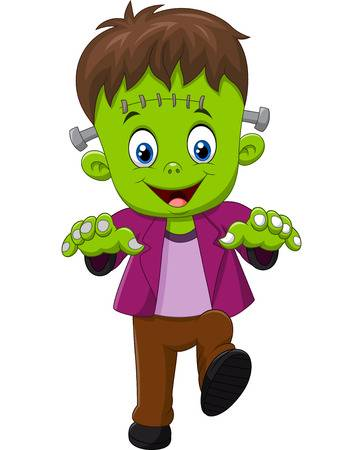 Frankenstein clipart kid friendly, Frankenstein kid friendly.