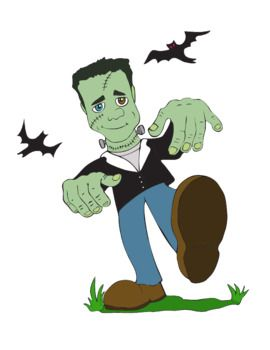 Kid Friendly Halloween Clip Art & Coloring Pages.
