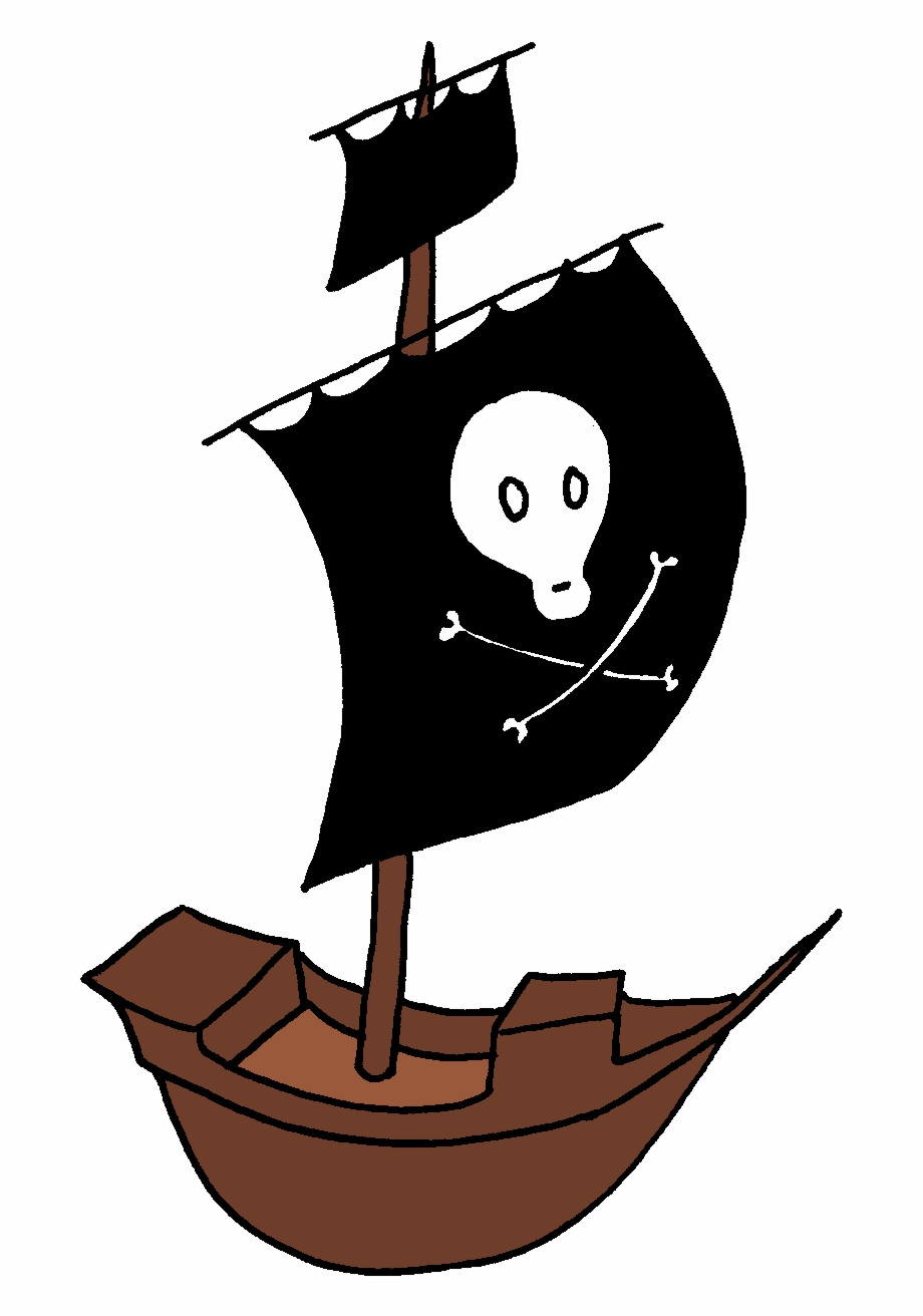 Jolly Roger Flag Clipart Kid Friendly.