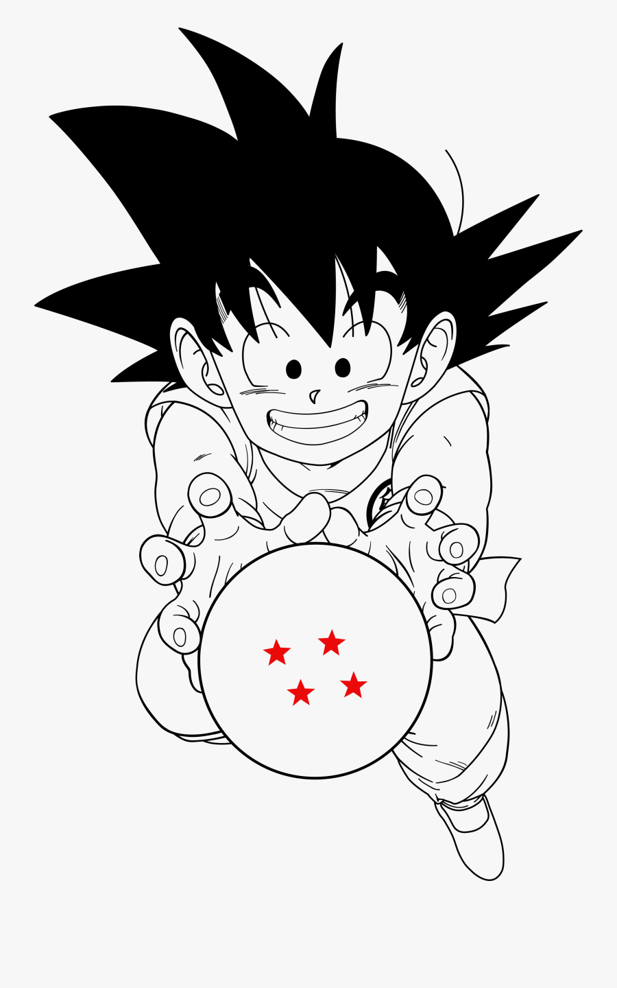 Free Download Kid Goku Clipart Goku Piccolo Dragon.