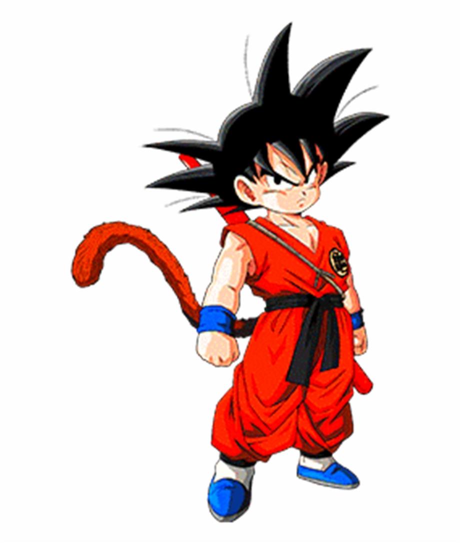 Kid Goku Png.