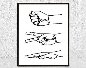 Finger print kid art.
