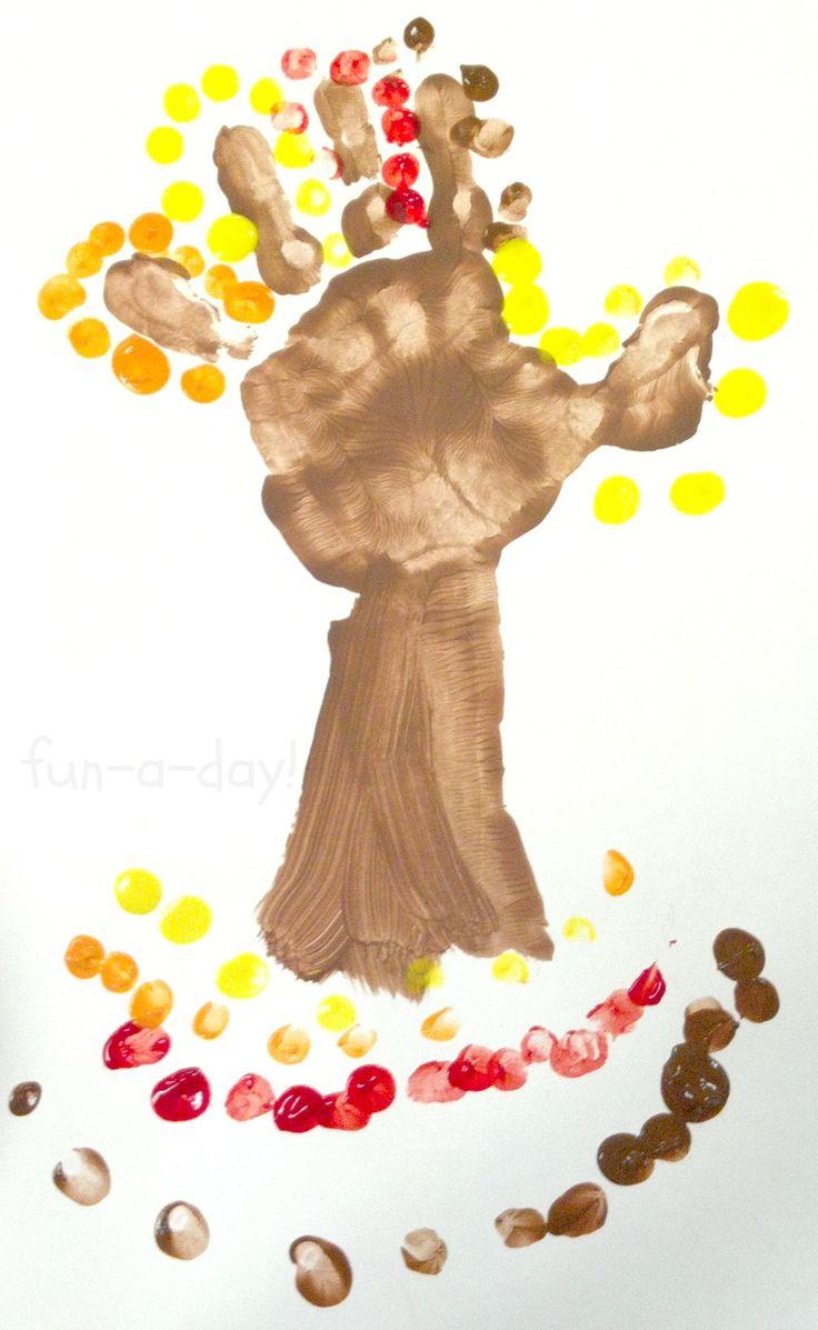 25+ best ideas about Hand Print Tree on Pinterest.