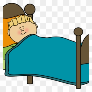 Clipart Sleeping Hospital Bed.