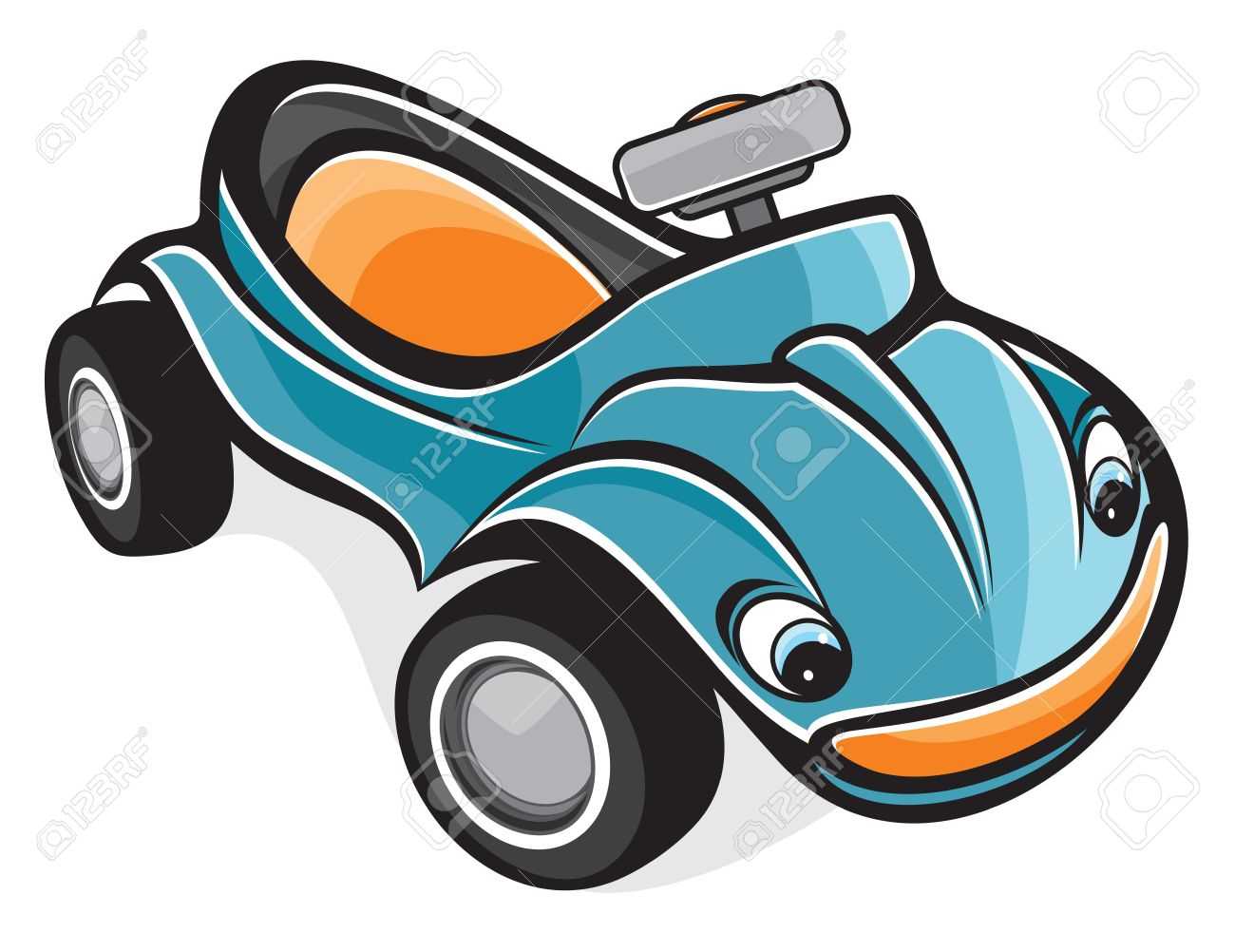 Cute Race Car Royalty Free Cliparts, Vectors, And Stock.
