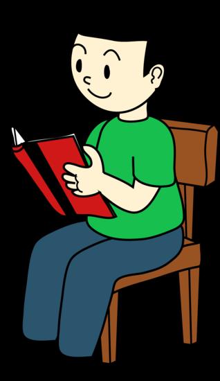 Similiar Cartoon Boy Sitting At Table Keywords.
