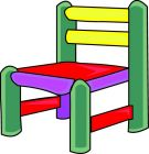 Kid In Chair Clipart.