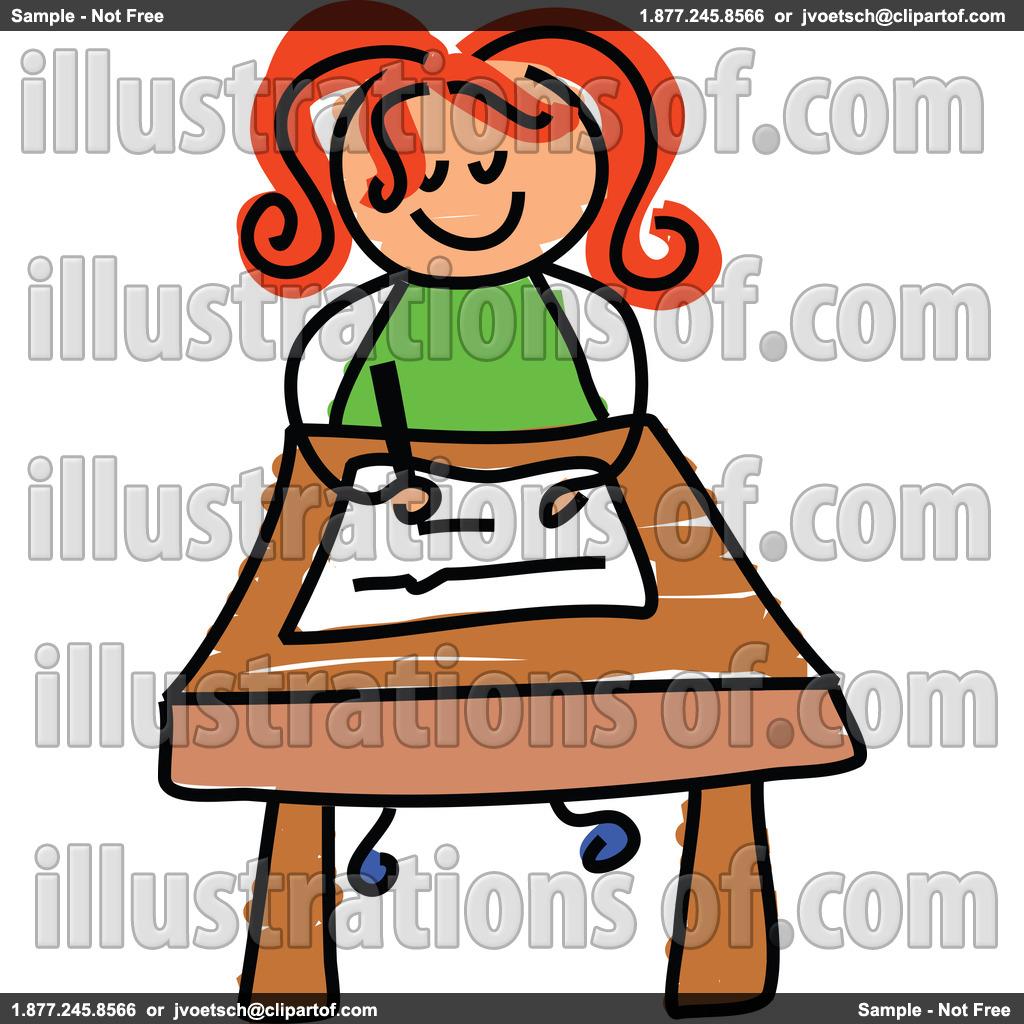 Student Desk Clipart.