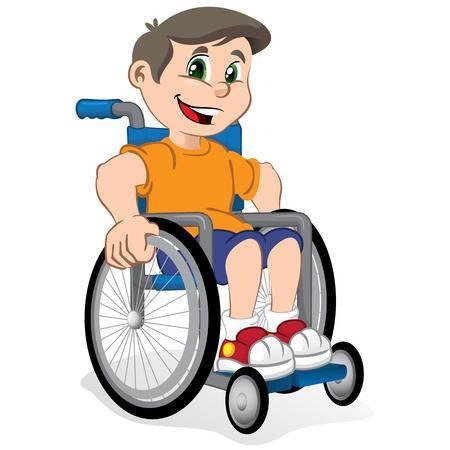 Kid in wheelchair clipart » Clipart Portal.