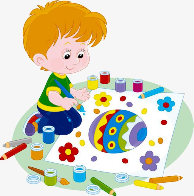 Kid Painter, Children Painting, Painting, Child Painting PNG.