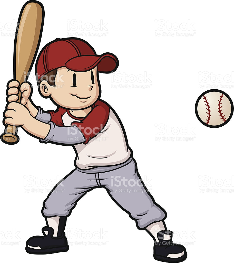 Kids playing baseball clipart 1 » Clipart Station.