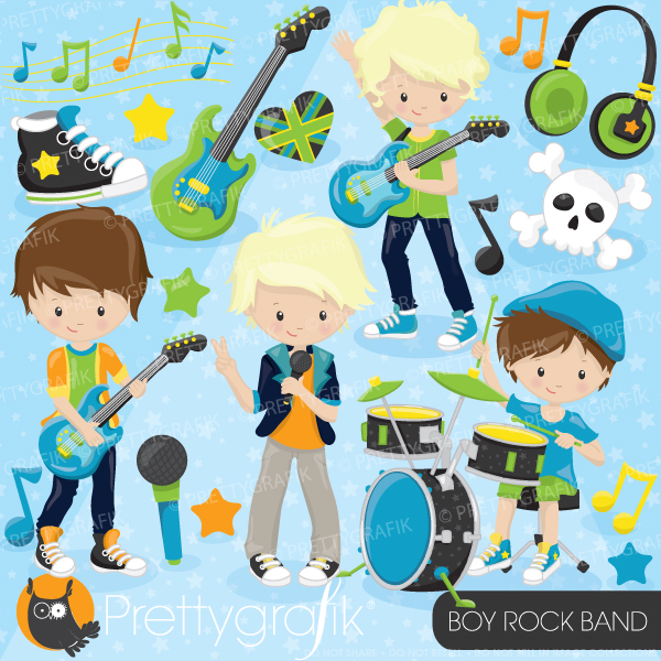 Band Rock Band Clipart.