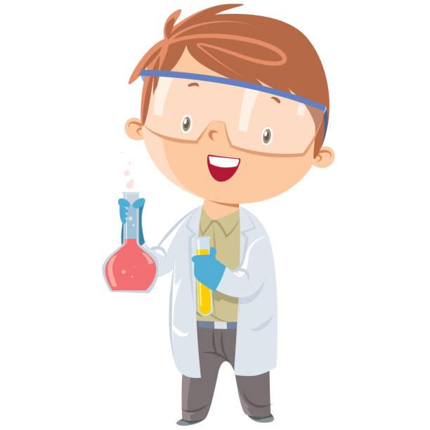 Best Kid Scientist Illustrations, Royalty.