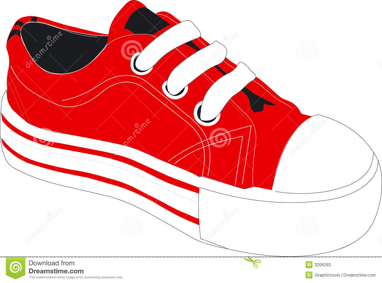 canvas shoes clipart -...