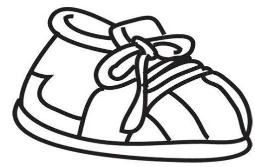 Kid Shoe Clipart Clipground