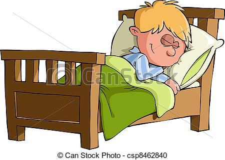 Kid sleeping in bed clipart 4 » Clipart Portal.
