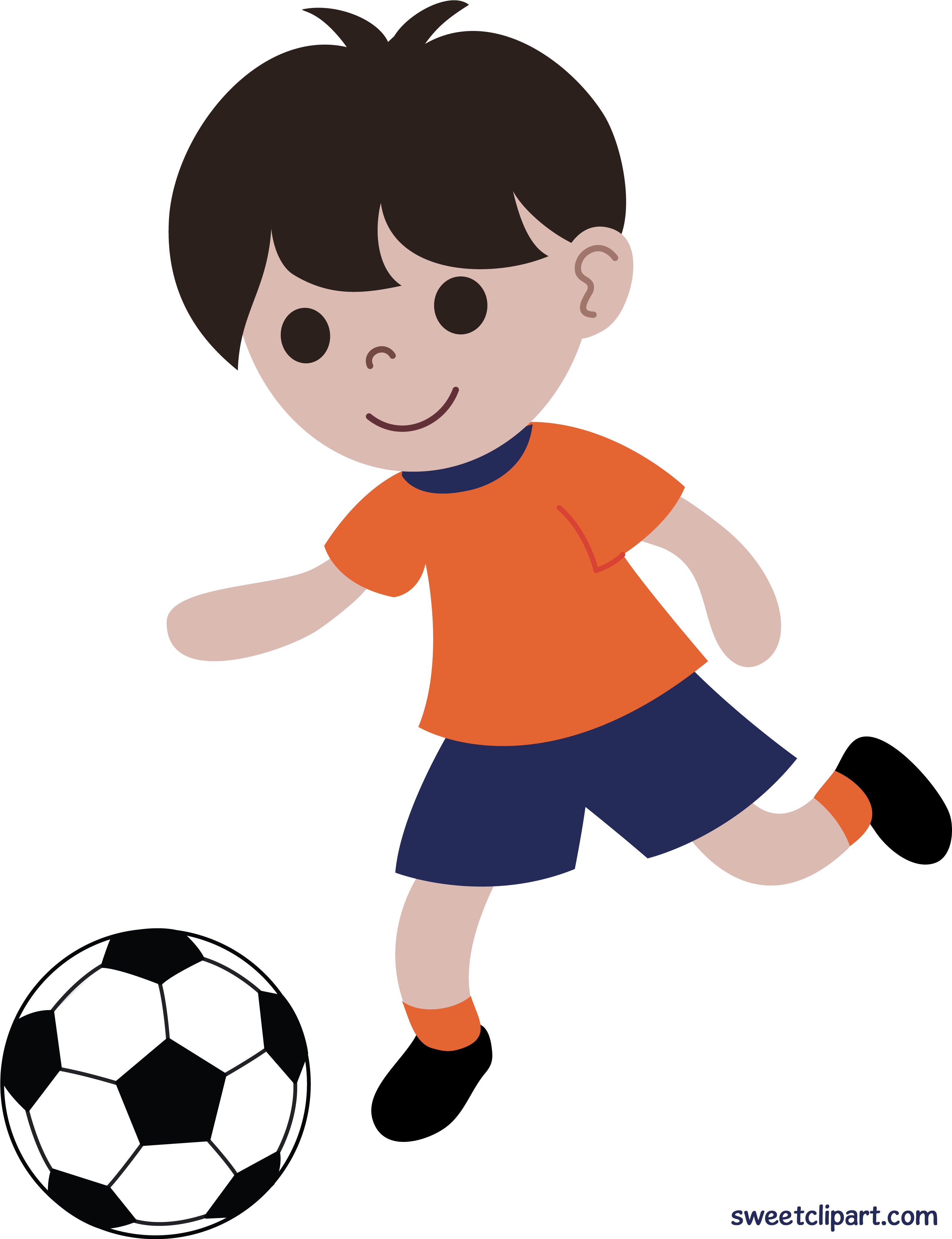 Download High Quality soccer clipart boy Transparent PNG.