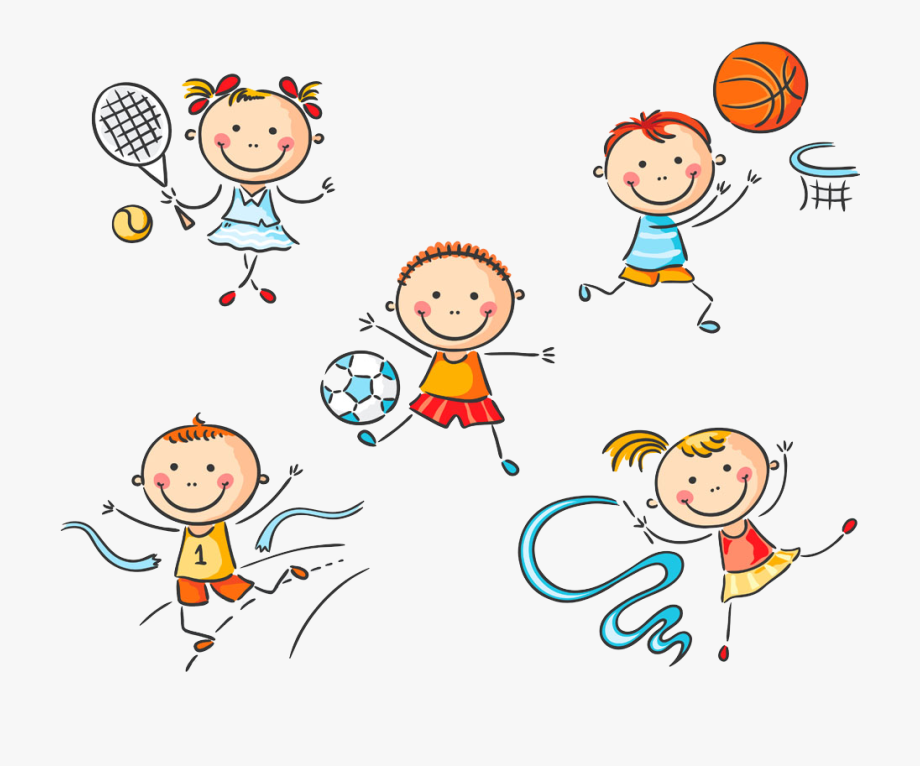 Children Clipart Sport.