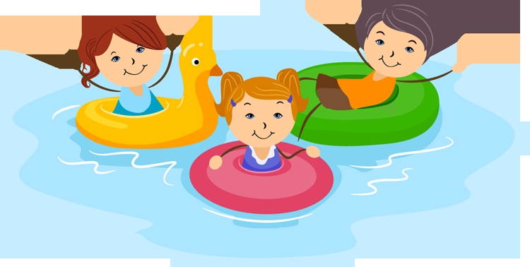 Swimming Clip Art.