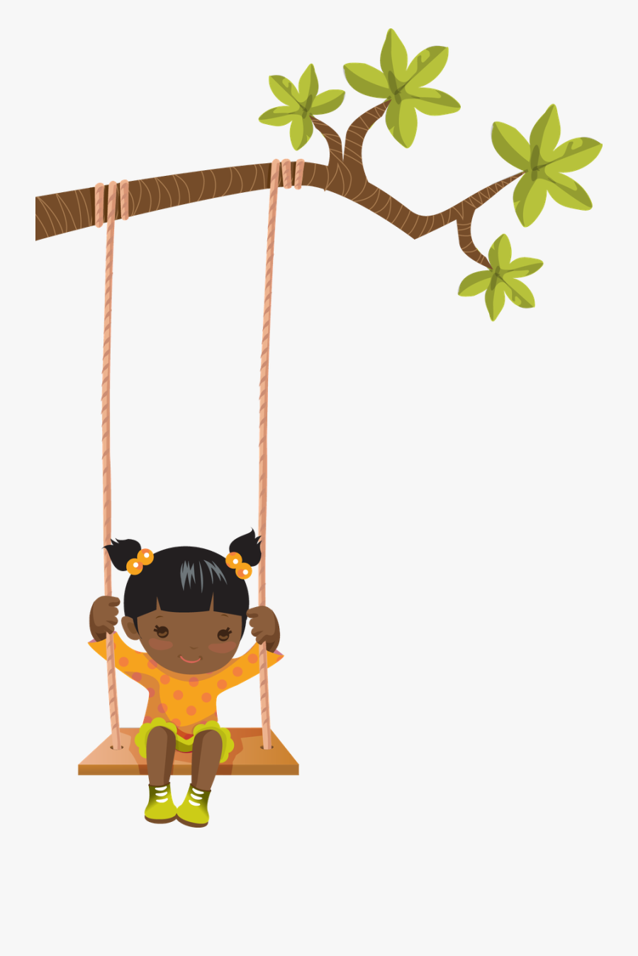 Child On Swing Clipart , Free Transparent Clipart.