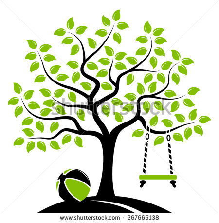 Tree Swing Stock Images, Royalty.