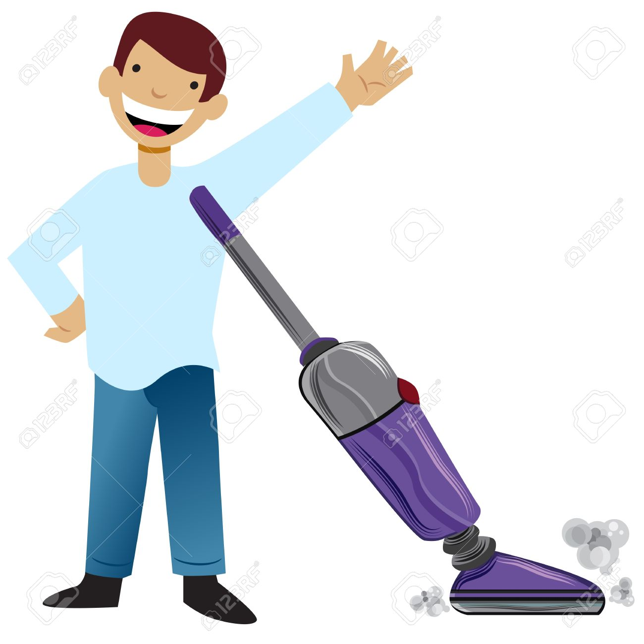 Kids Vacuuming Clipart Clipground