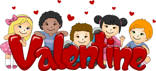 Valentine Clipart For Kids.
