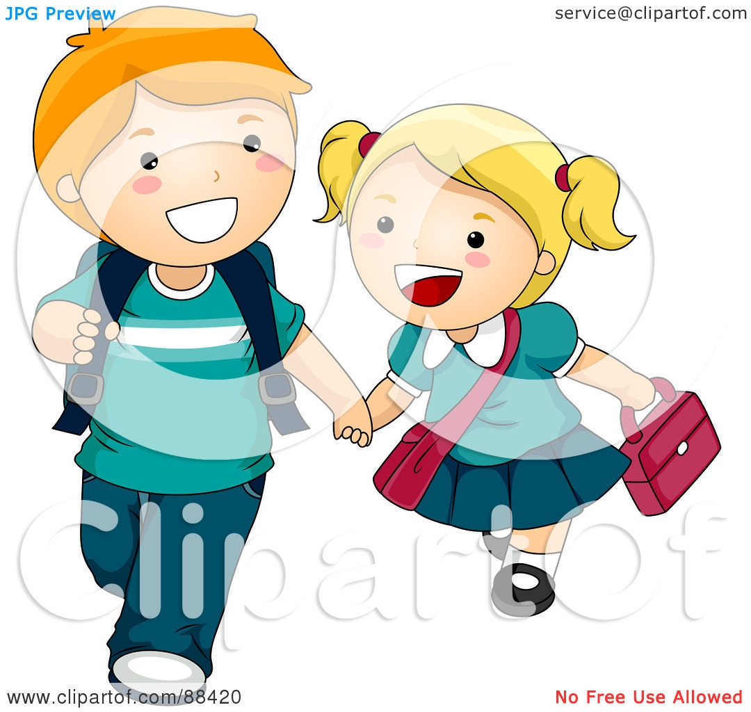 Walking To School Clip Art Pictures to Pin on Pinterest.