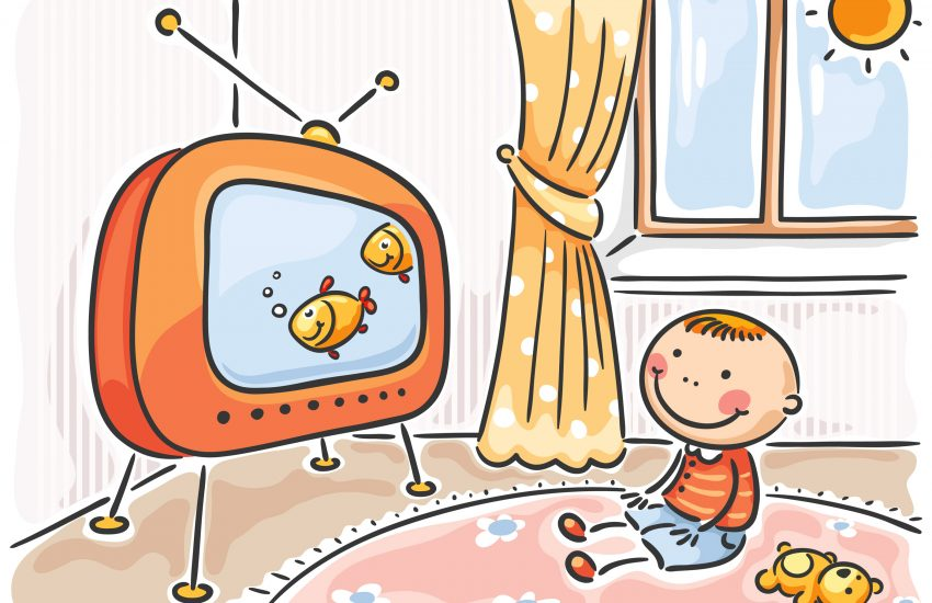 Kids watching tv clipart 1 » Clipart Station.