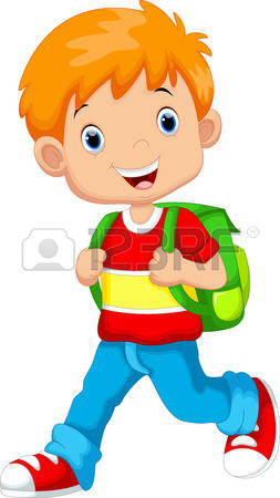 Kid With Backpack Clipart & Free Clip Art Images #9623.