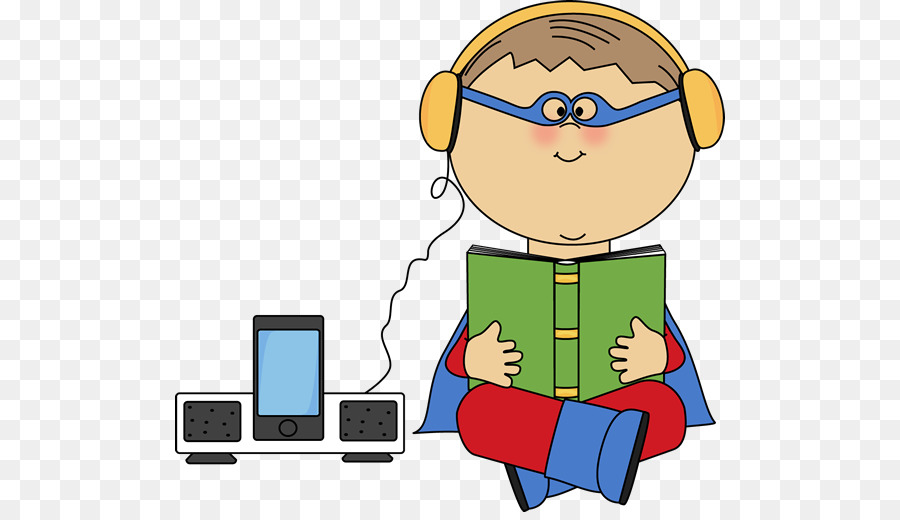 Kid with headphones clipart » Clipart Station.