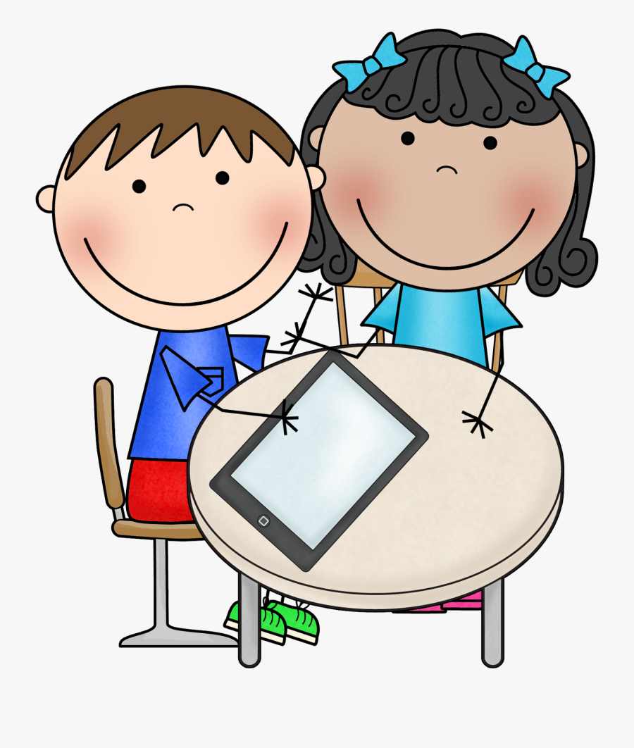 Student With Ipad Clipart , Free Transparent Clipart.