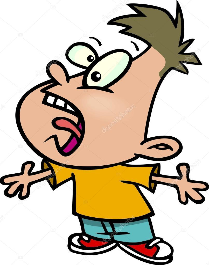 Kid yelling clipart 5 » Clipart Portal.