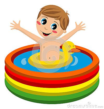 Kiddie Pool Clipart.